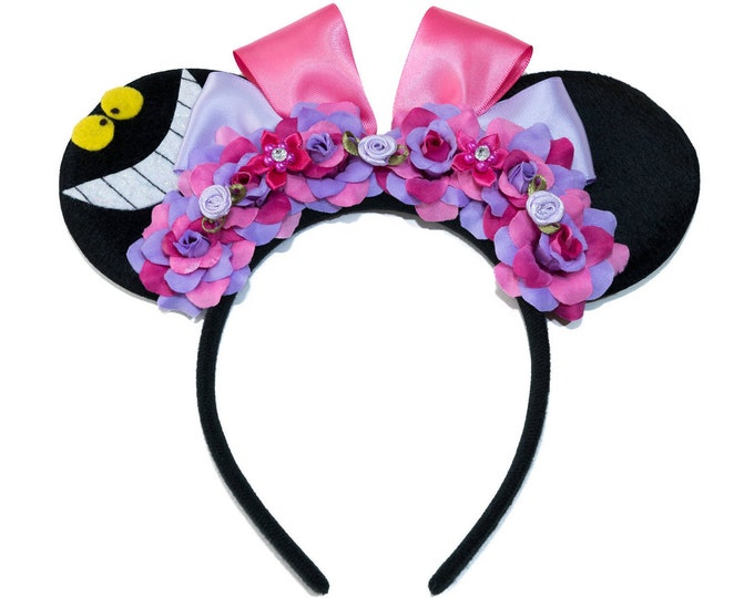 Cheshire Mouse Ears Headband