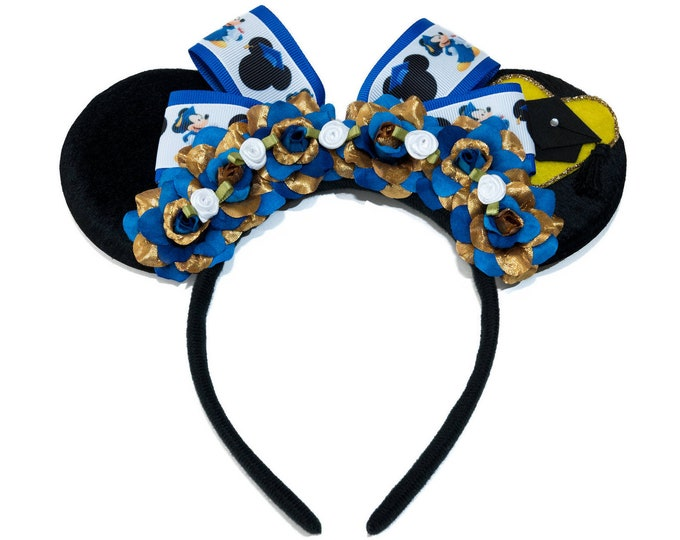 Graduation Mouse Ears Headband