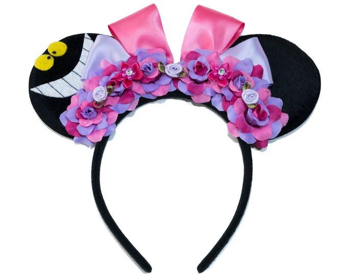 Cheshire Mouse Ears Headband
