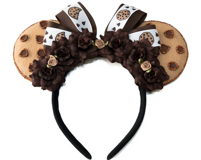Chocolate Chip Cookie Mouse Ears
