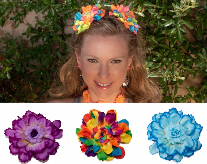 Customizable Flower Pom Pom Headband