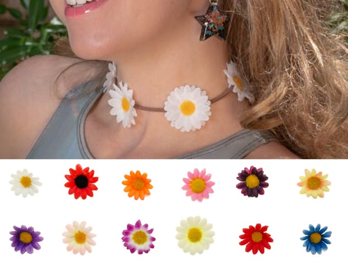 Customizable Daisy Choker