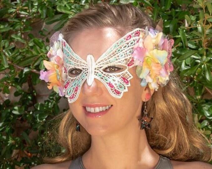 Pastel Butterfly Mask