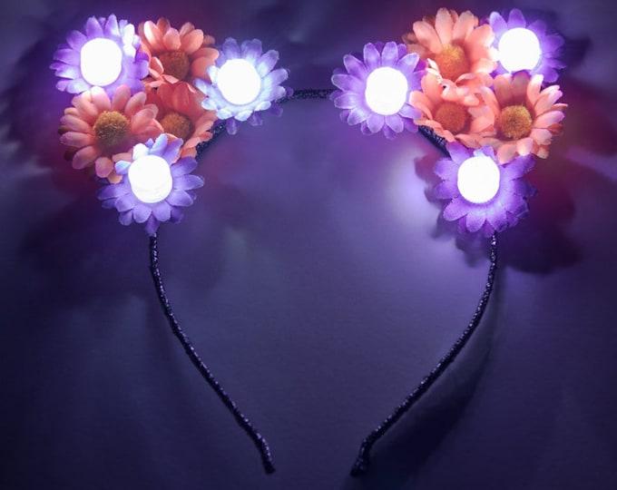Halloween LED Cat Ears