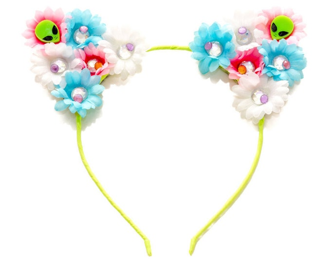 Alien Babe Cat Ear Headband