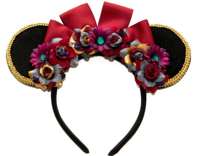 Lady Tremaine Mouse Ears Headband