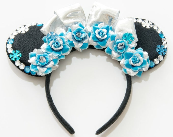 Princess Elsa Mouse Ears Headband
