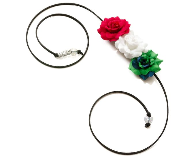 Cinco de Mayo Rose Side Flower Crown