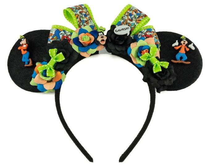 Classic Goof Mouse Ears Headband
