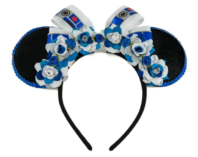 Blue Droid Mouse Ears