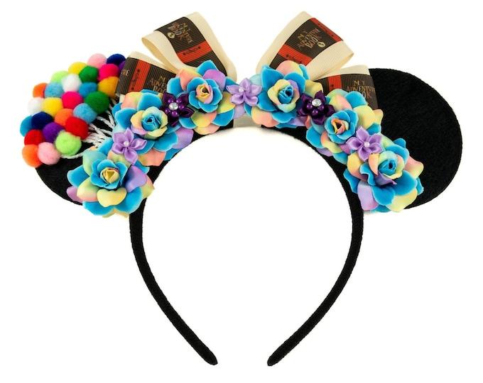 Up Mouse Ears, Mickey Ears, Minnie Ears, Flower Mickey Ears, LED Mickey Ears, Spirit of Adventure, My Adventure Book, Disneybound