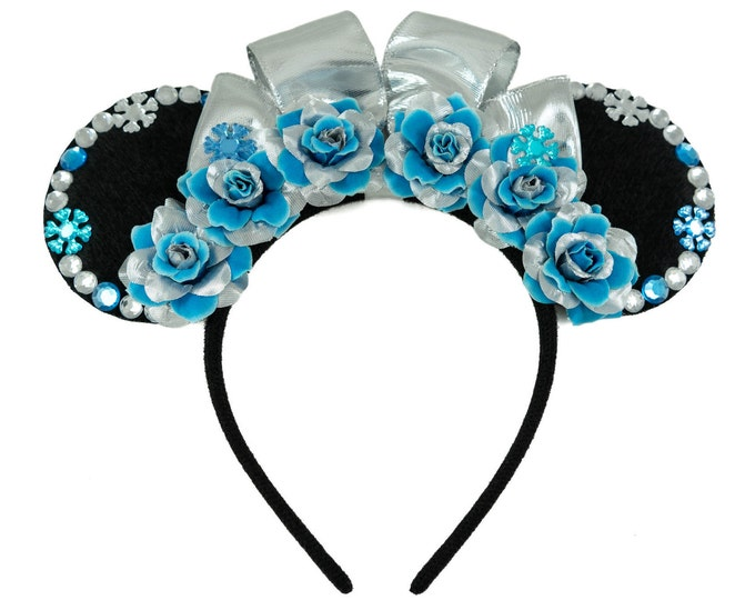 Princess Elsa Mouse Ears Headband