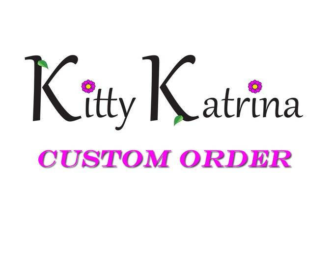 Custom Pastel Rainbow Daisy Flower Crown