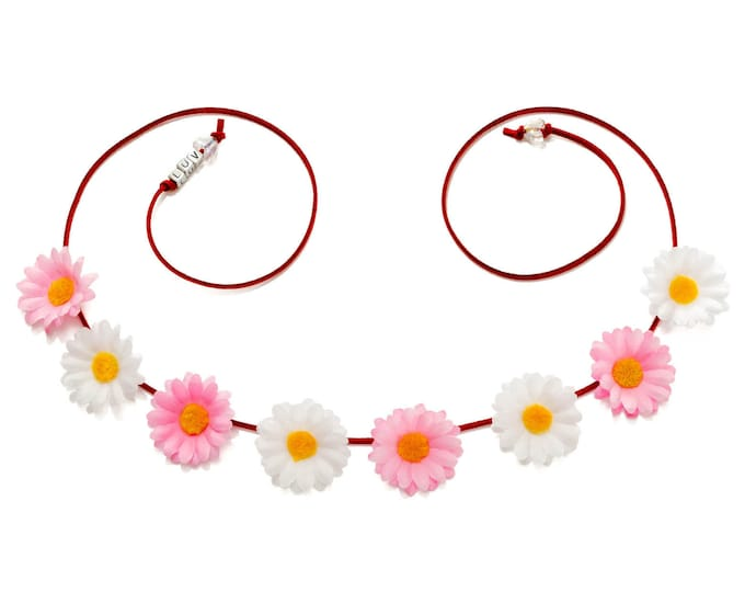 Valentine's Day Daisy Flower Crown