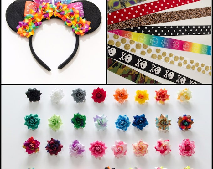 Customizable Mouse Ears Headband