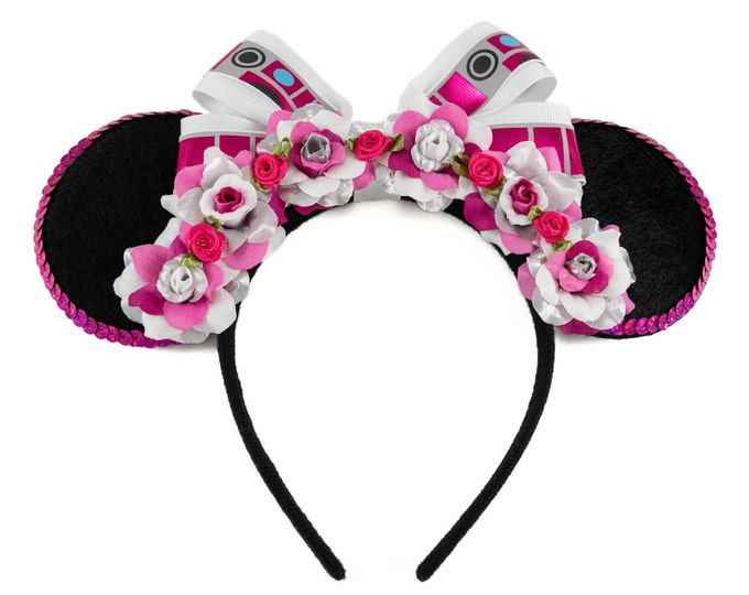 Pink Droid Mouse Ears