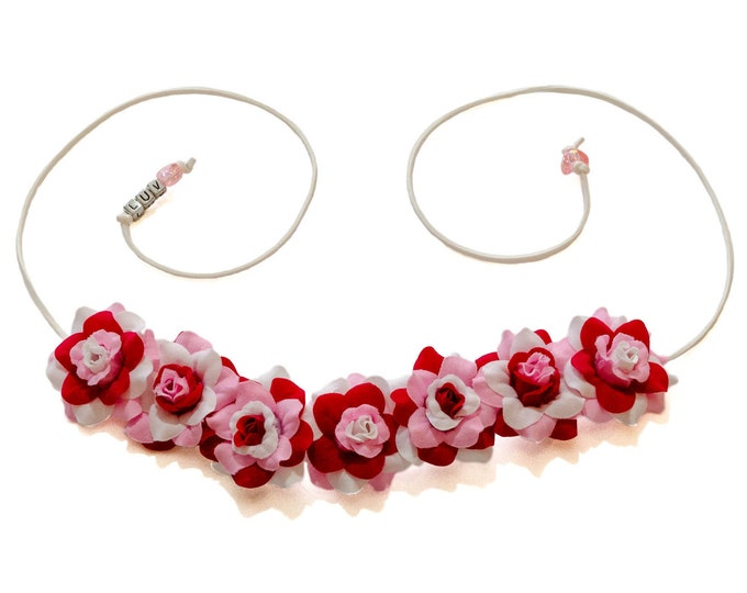 Valentine's Day Rose Flower Crown