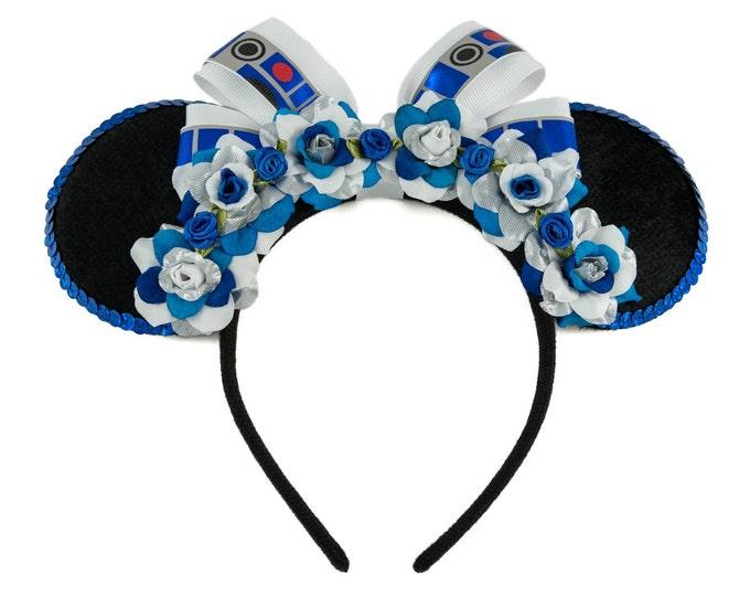 Blue Droid Mouse Ears