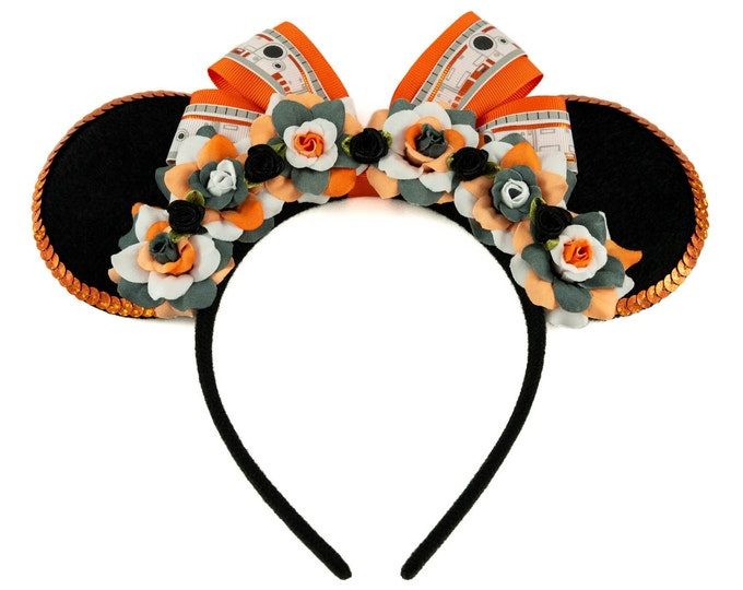 Orange Droid Mouse Ears