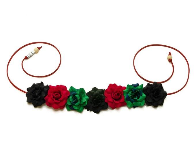 Kwanzaa Rose Flower Crown