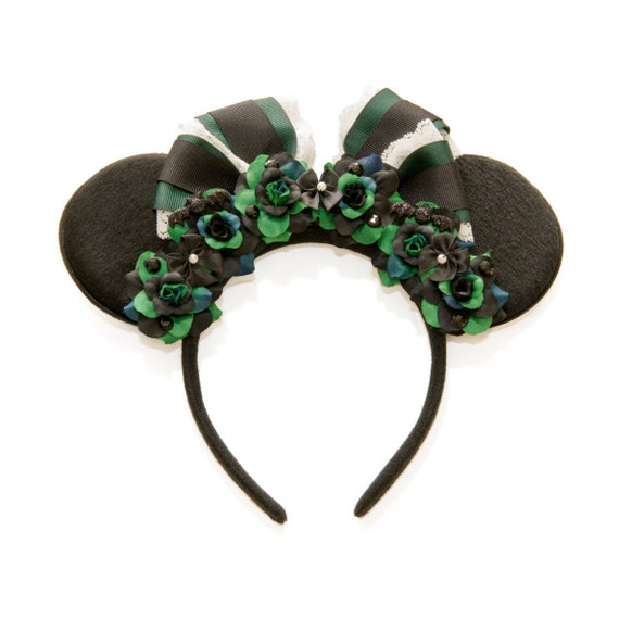 Haunted Mansion Maid Mouse Ears, Mickey Ears, Minnie Ears, Haunted Mansion Minnie Ears, Flower Minnie Ears, Disneybound by Etsy