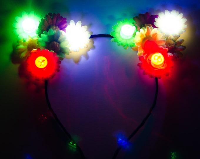 Rasta LED Cat Ears