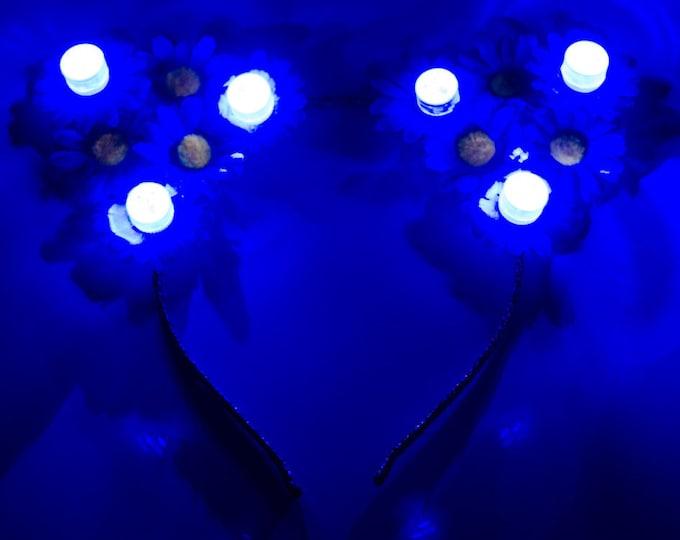 Blue LED Cat Ears