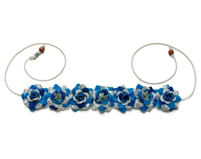 Hanukkah Rose Flower Crown
