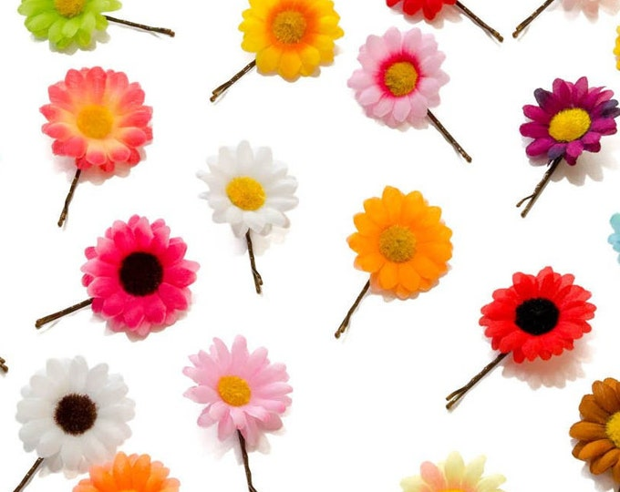 Daisy Flower Hair Pin