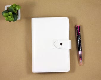 Planner diary 2018, business planner, planner for office, Personal planner organizer white