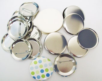1.75 Mylar Plastic Button Covers Circles 1000 pcs 1-34 Inch