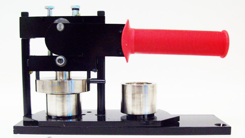 1 Tecre Button Making Kit Button Machine 1000 Pin Back Button Parts Button Boy Double Level Hand Held Punch