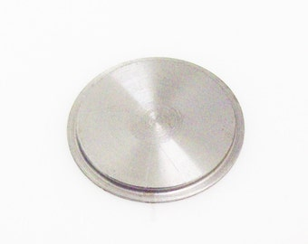"Tecre 1 Inch Crimp Die Adapter- for use with Tecre 1"" Button Maker Machine and Plastic Flat Back Parts"