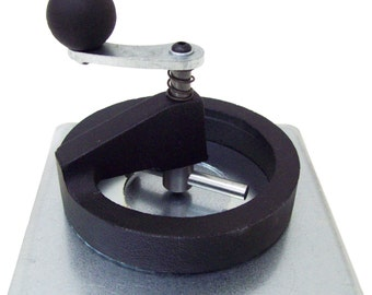 "Button Boy Fixed Rotary Cutter & Plate for STD 2-1/4"" Buttons Cut Size is 2.625"""
