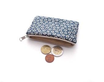 Small purse dark petrol