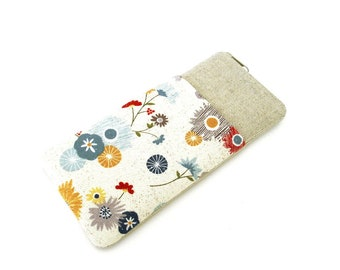 Glasses case with zipper
