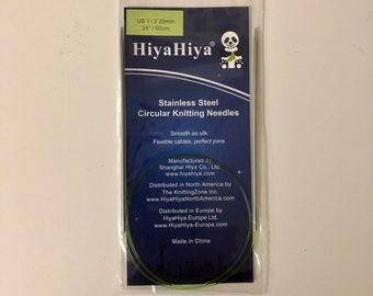 """24"""" (60 cm) HiyaHiya Steel Circular Needle"""
