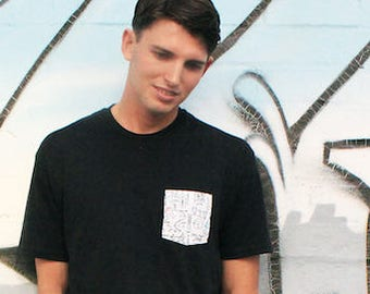 Science Graphic Pocket Tee