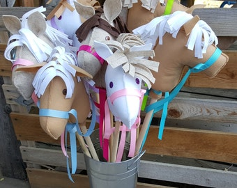 Stick Horse (Head Only), Horse Party Favor, Stick Horse Party Favor - DIY Party Craft Easy to Assemble