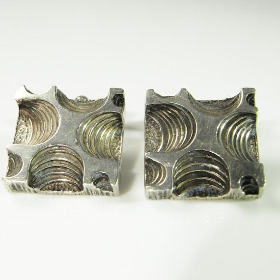 Silver Cufflinks Vintage Cufflinks Antique Cufflin
