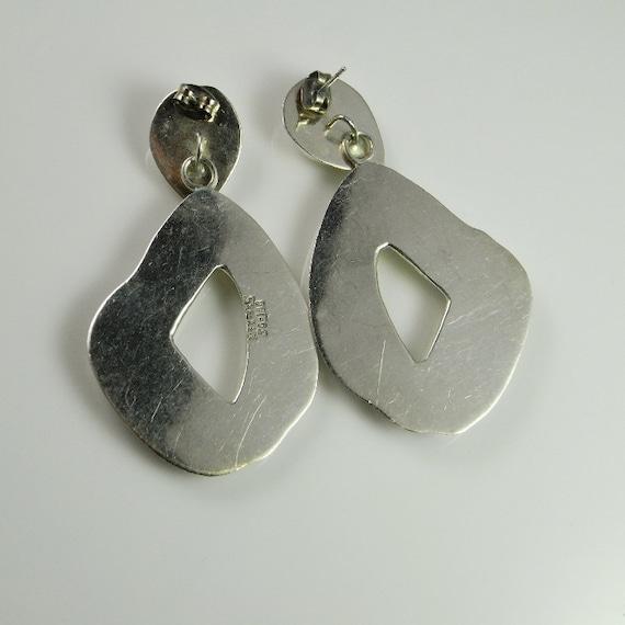 Abstract earrings 80s earrings Statement earrings… - image 4