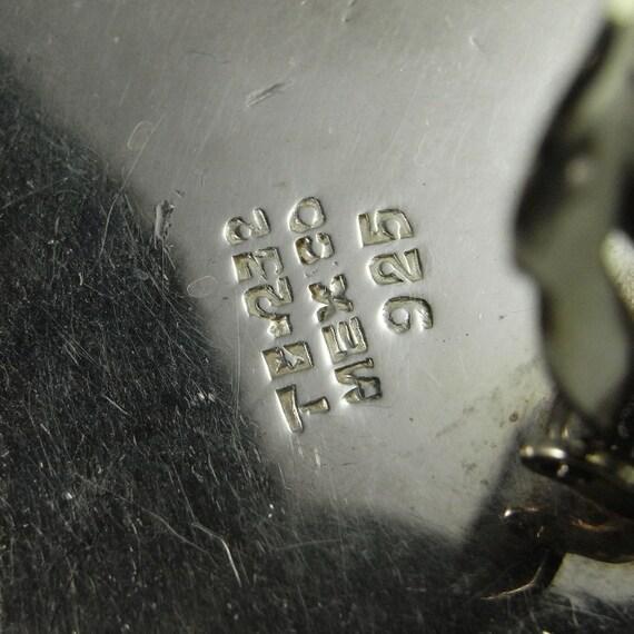 Zebra Square Earrings Mexican jewelry Minimalist … - image 5