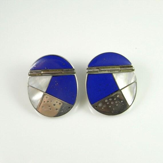 Statement Earrings 80s earrings 80s jewelry Geomet