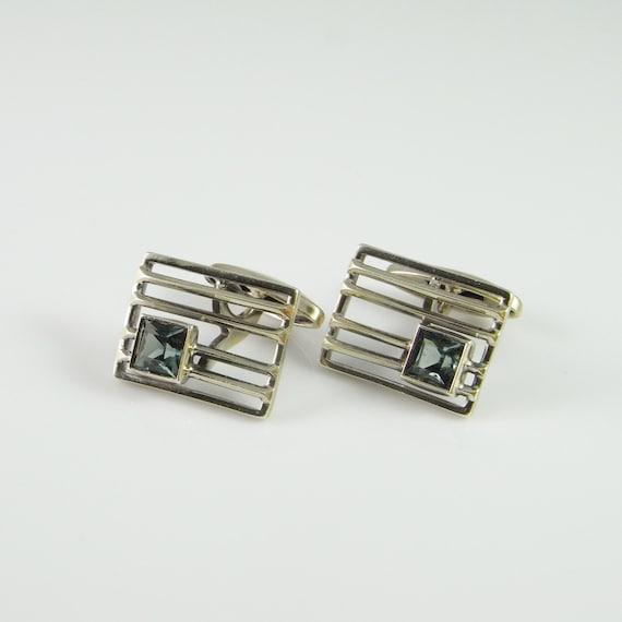 gatsby wedding silver cufflinks mens cufflinks wed