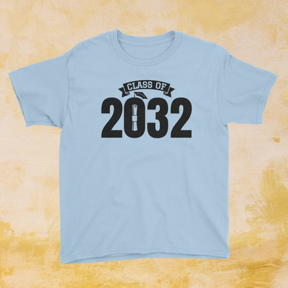 Class of Graduation T Shirt for Kids /— Custom Personalized Year /— Back to School