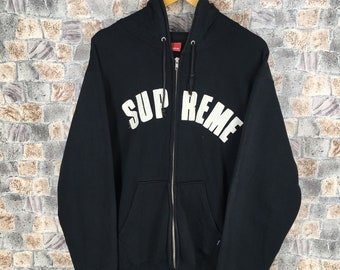 096853778d1d SUPREME ARC Logo Hoodie Sweatshirt Large Black Vintage Supreme Box Usa Big  Logo Streetwear Sweater Hoodie Jacket Size L