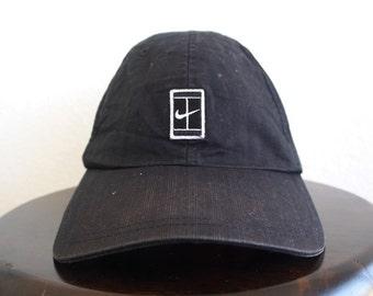 sale nike dri fit cap in white 5c220 e1e38  canada nike baseball women cap  big logo vintage 90s nike swoosh andre agassi girl hat adjustable 4a9b0a1725fa