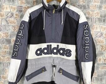 Grand Sweatshirt Des Adidas 80Etsy Run Années Dmc Vintage m8nOvN0wy