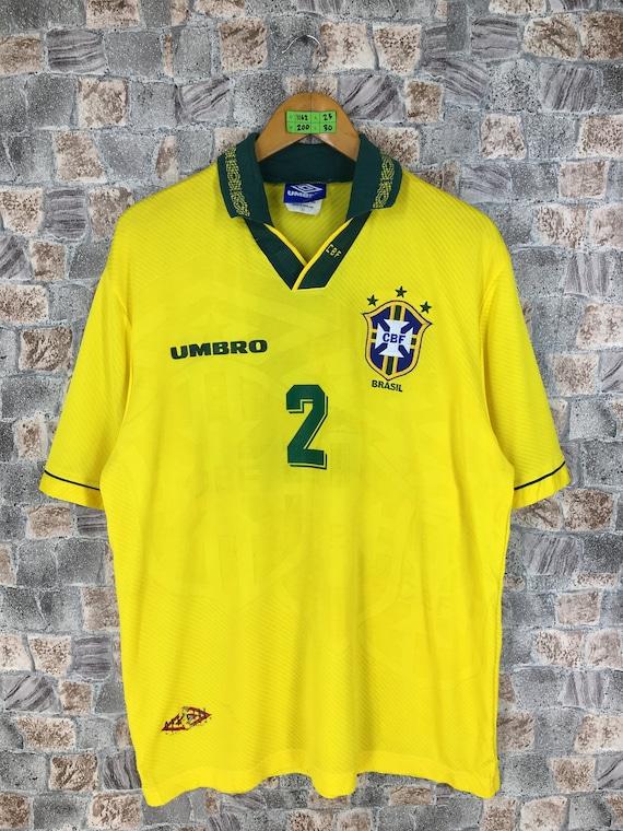 Vintage 90's UMBRO SPORT Jersey Large Umbro Brazil