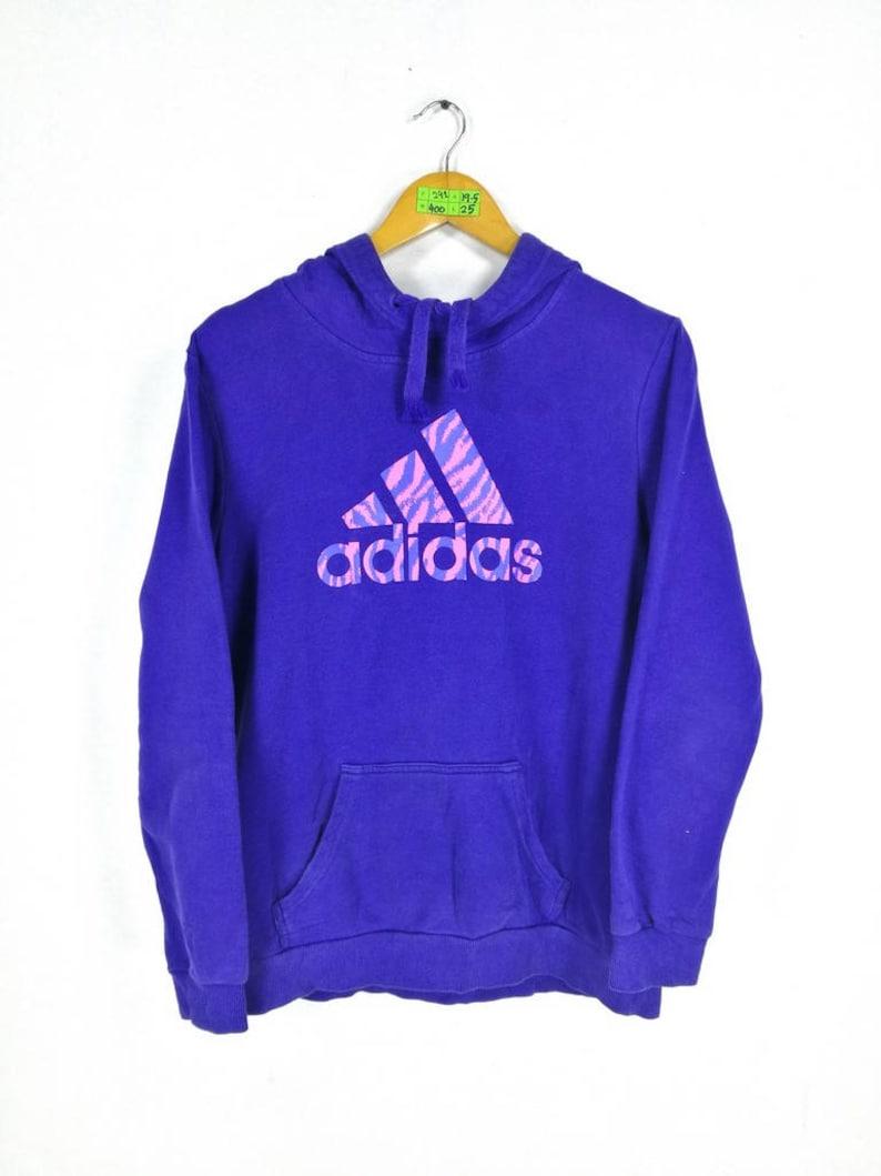 997527504 ADIDAS Sweatshirt Hoodie Women/Men Medium Vintage 90s Adidas | Etsy